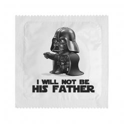 Kondom - I will not be his father, 1 kom