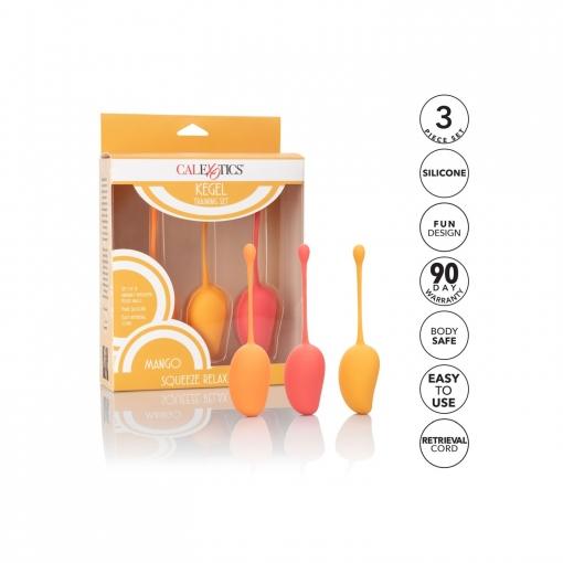 Cal Exotics - Kegel Training Set Mango