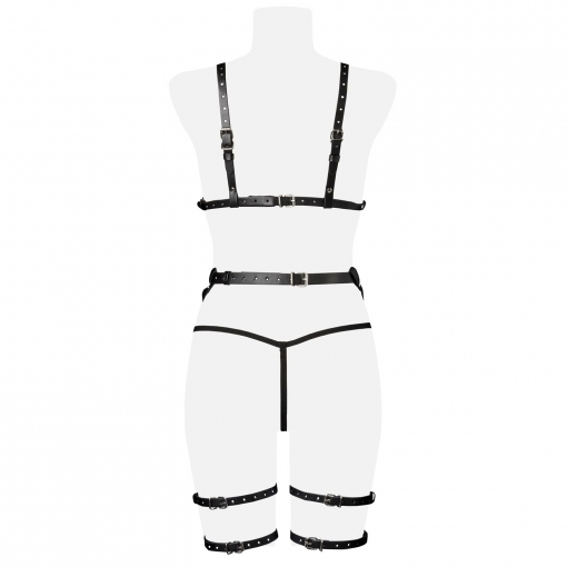 Grey Velvet - Trodijelni harness