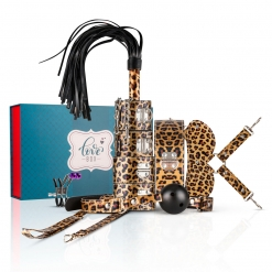 Love Box - BDSM Set Leopard