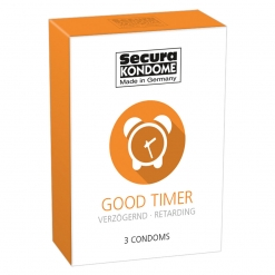 Secura - Good Timer kondomi, 3 kom