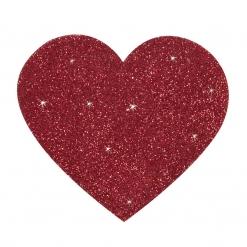Cottelli Collection - Naljepnice za bradavice srce, 2 kom