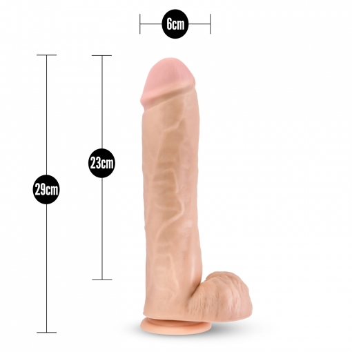 Blush - Silicone Willy Dildo 29 cm