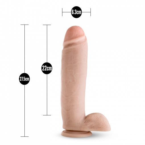 Blush - Silicone Willy Dildo 26 cm
