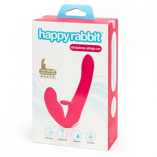Happy Rabbit - Strapless Strap-On Rabbit Vibe