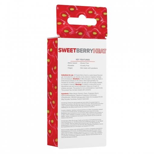 System JO - Sweet Berry Arousal Gel, 10 ml