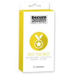 Secura - Test the Best mix kondoma, 12 kom