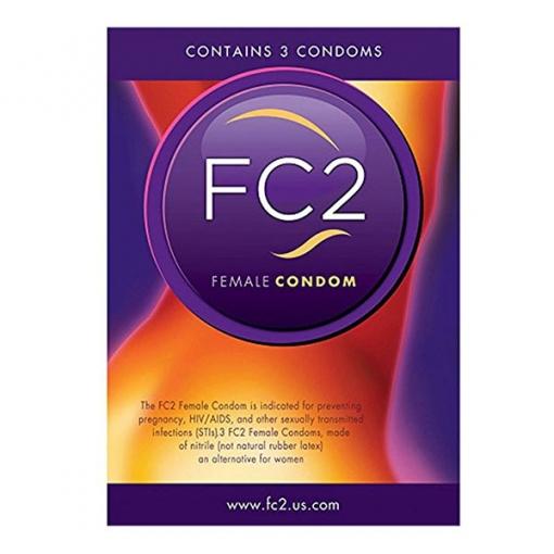 Femidom FC2 - Ženski kondom, 3 kom