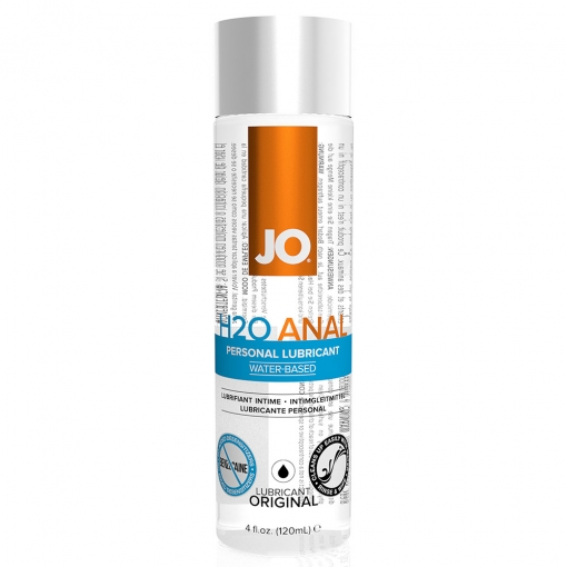 System JO – H2O Anal Lubricant, 120 ml