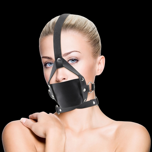 Ouch - Leather Mouth Gag