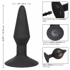 Cal Exotics - Medium Silicone Inflatable Plug