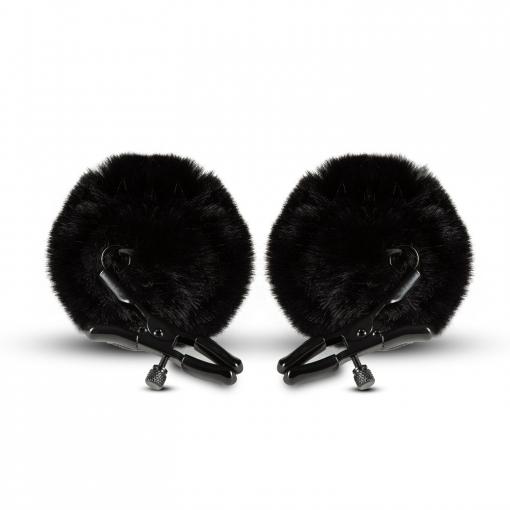 Noir - Pom Nipple Clamps