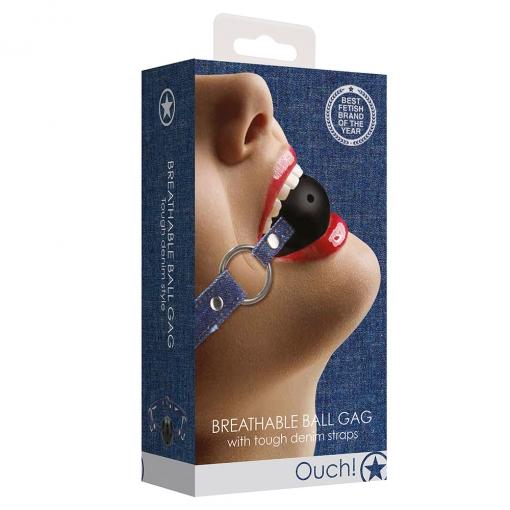 Ouch Denim - Breathable Ball Gag
