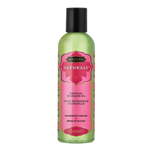 Kama Sutra - Ulje za masažu Naturals - Strawberry Dreams 59 ml